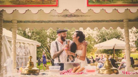 IJskar tijdens Bruiloft